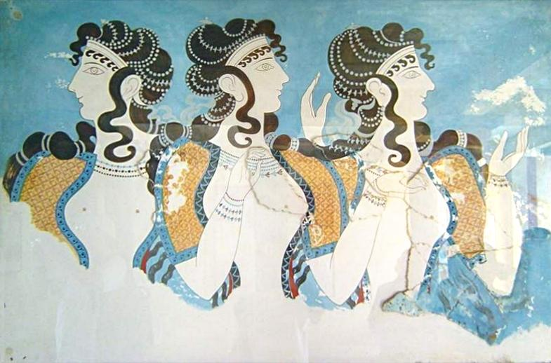 Minoan_Queens_Fresco